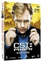 La copertina di CSI: Miami - Stagione 7 - Parte 1 (dvd)