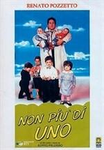 La copertina di Non più di uno (dvd)