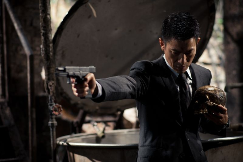 Blind Detective: Andy Lau in una scena del film di Johnnie To