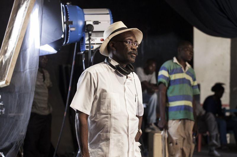 Grigris: il regista Mahamat-Saleh Haroun sul set del film