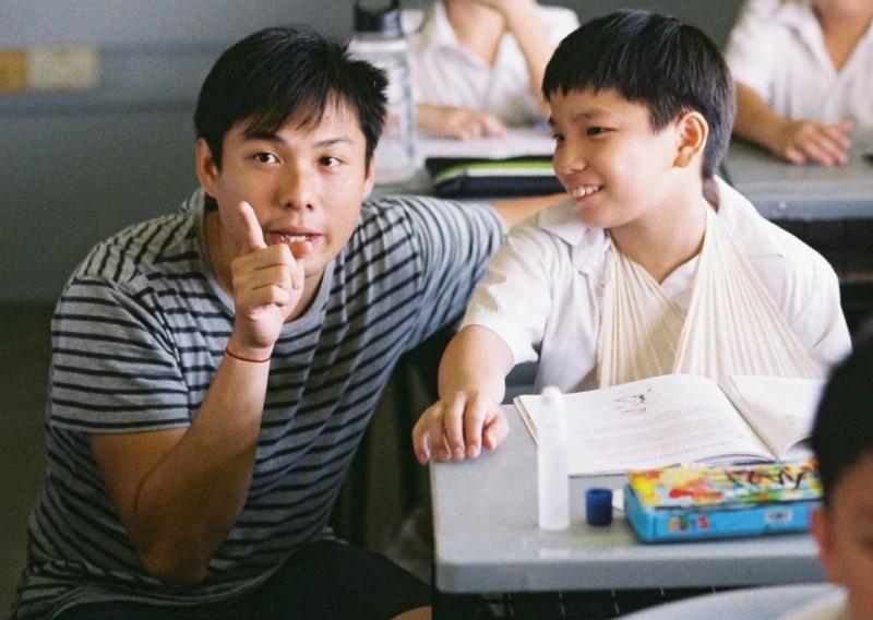 Ilo Ilo:  il piccolo protagonista Koh Jia Ler sul set col regista Anthony Chen