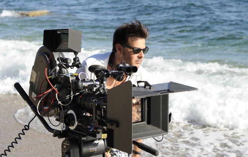 Jeune et jolie: il regista del film François Ozon sul set
