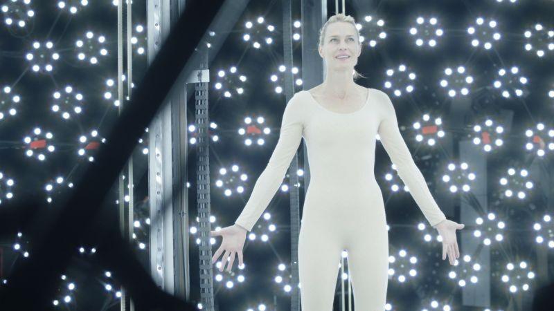 The Congress: Robin Wright in una scena del film di Ari Folman