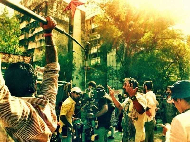 Ugly: il regista Anurag Kashyap sul set
