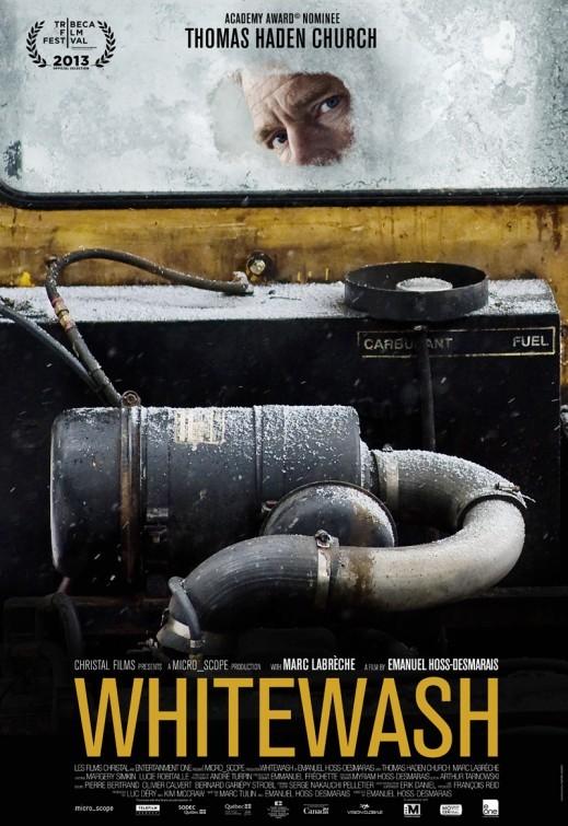 Whitewash: la locandina del film