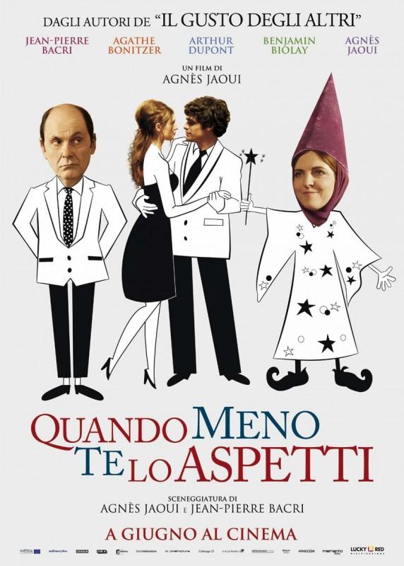 Au bout du conte: la locandina italiana del film