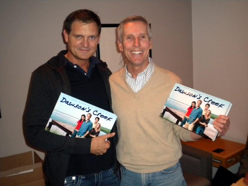 Dawson's Creek: Kevin Williamson e Paul Stupin alla presentazione dei DVD della serie