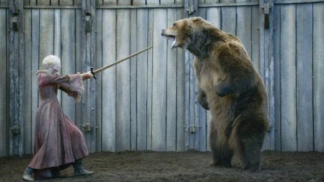 Game of Thrones: Gwendoline Christie nell'episodio The Bear and the Maiden Fair