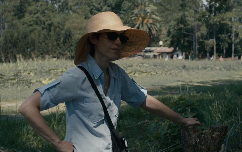 Los Dueños: la protagonista Rosario Bléfari in una scena del film