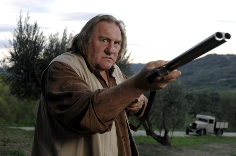 Niente può fermarci: Gérard Depardieu in una scena del film