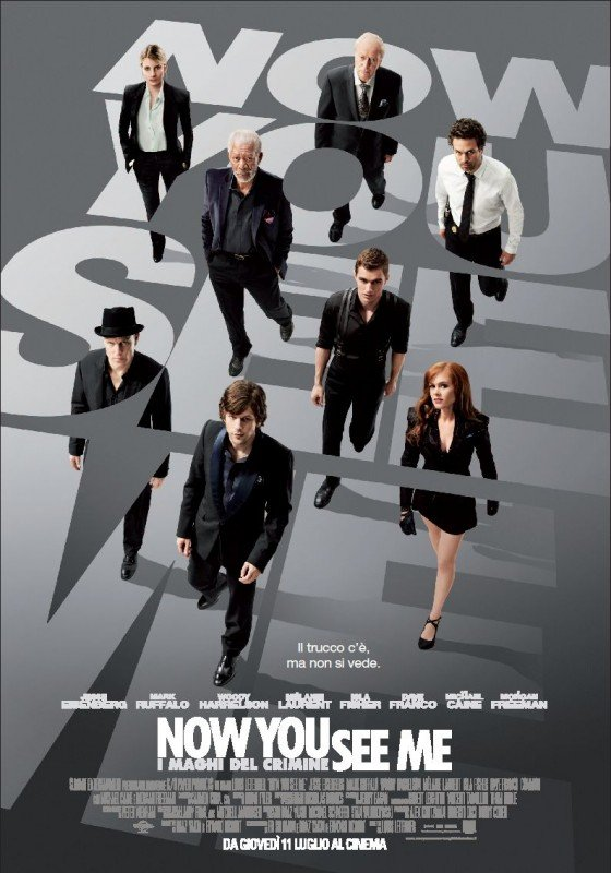 Now You See Me: il poster italiano