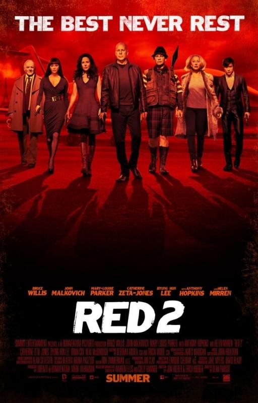 Red 2 : il poster con la gang al completo
