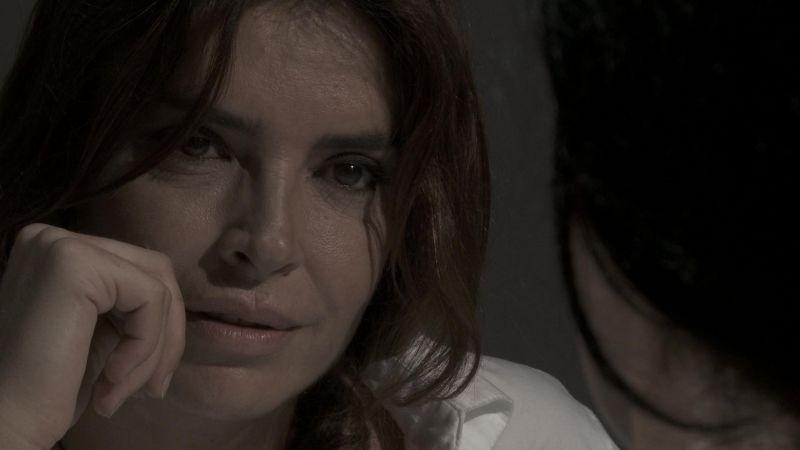 Nero infinito: Francesca Rettondini in una scena del film