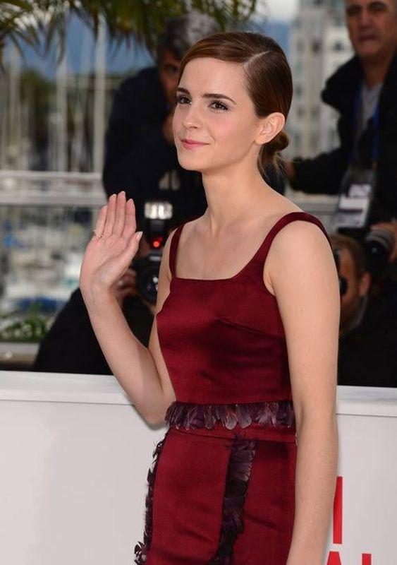 Emma Watson al Festival di Cannes 2013 durante il photocall di The Bling Ring