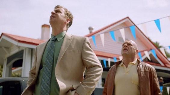 Un'immagine della serie televisiva Under the Dome