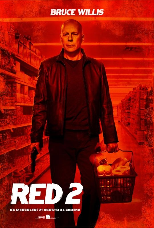 Red 2 : character poster italiano per Bruce Willis