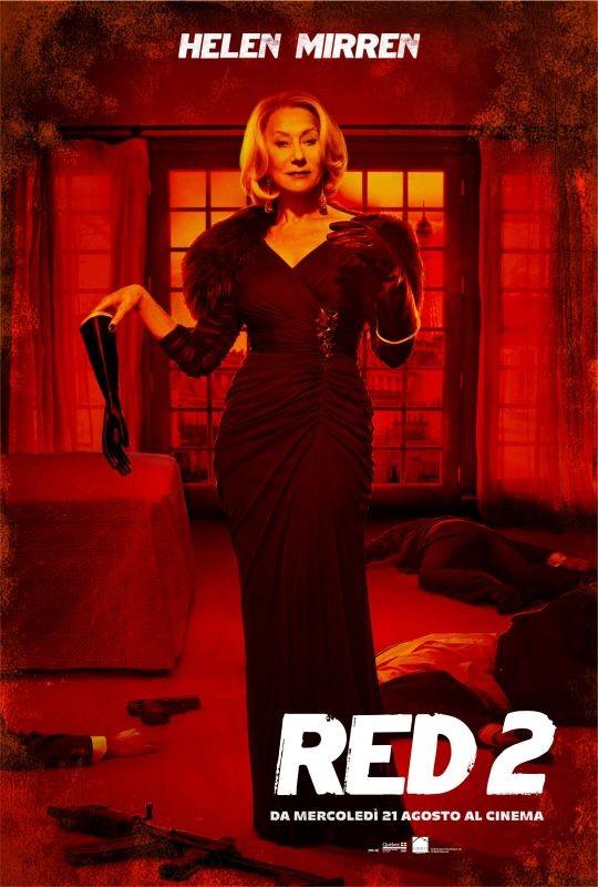 Red 2 : character poster italiano per Helen Mirren
