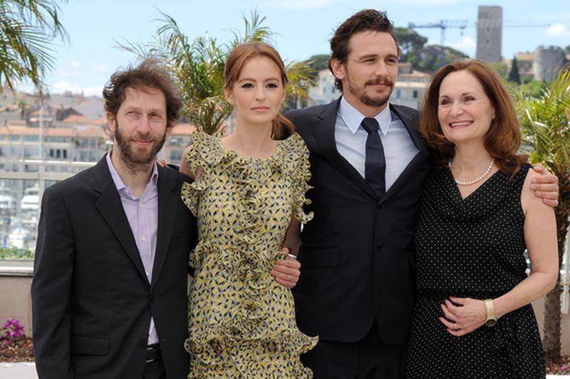 As I Lay Dying: il cast del film insieme al regista e interprete James Franco al photocall di Cannes 2013