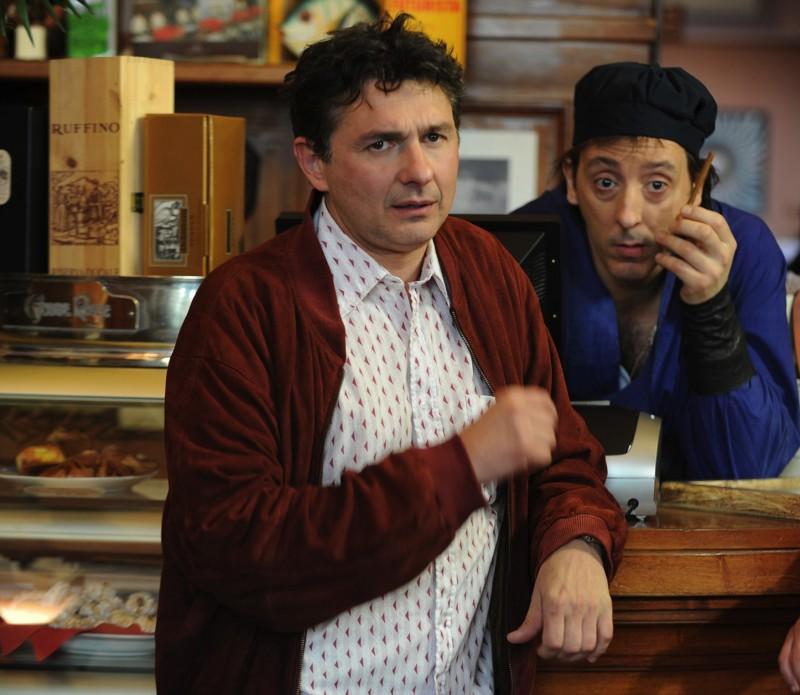 Una vita da sogno: Alessandro Paci in una scena con Massimo Ceccherini