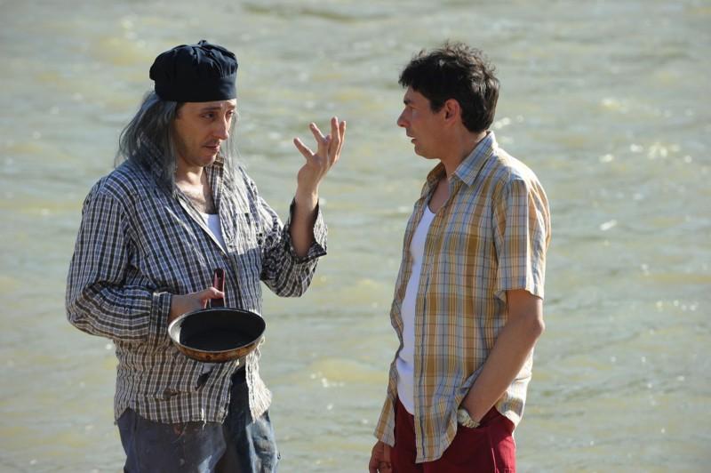 Una vita da sogno: il protagonista Alessandro Paci in una scena con Massimo Ceccherini