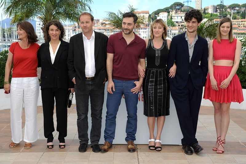 A Castle in Italy: il cast del film durante il photocall del film a Cannes 2013