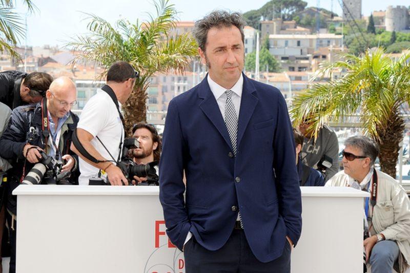 La grande bellezza: il regista Paolo Sorrentino al photocall di Cannes 2013