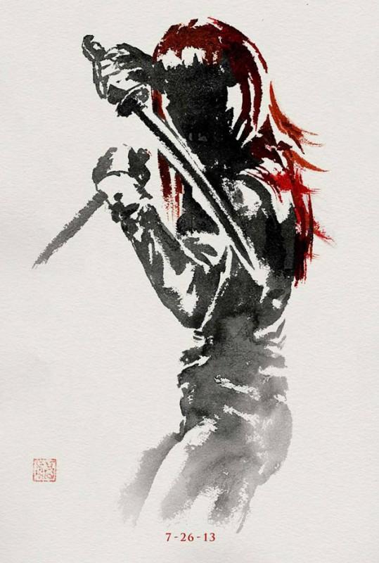 Wolverine: il teaser poster di Yukio