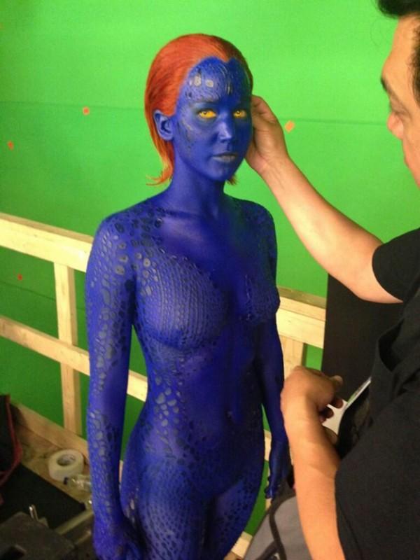 X-Men: Giorni di un futuro passato - Jennifer Lawrence diventa blu