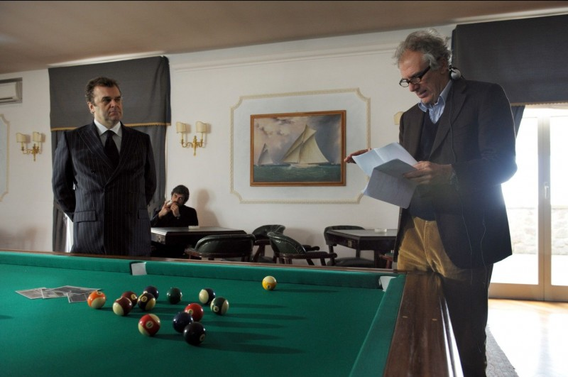 Cha Cha Cha: Luca Argentero insieme a Pippo Delbono e al regista Marco Risi sul set