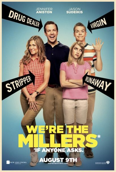 We\'re the Millers: la locandina del film