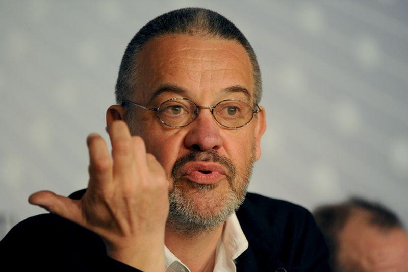 Michael Kohlhaas: il regista Arnaud des Pallières durante la conferenza stampa del film a Cannes 2013