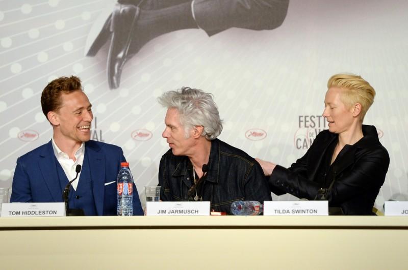 Only Lovers Left Alive: Tilda Swinton e Tom Hiddleston presentano il film a Cannes con Jim Jarmusch