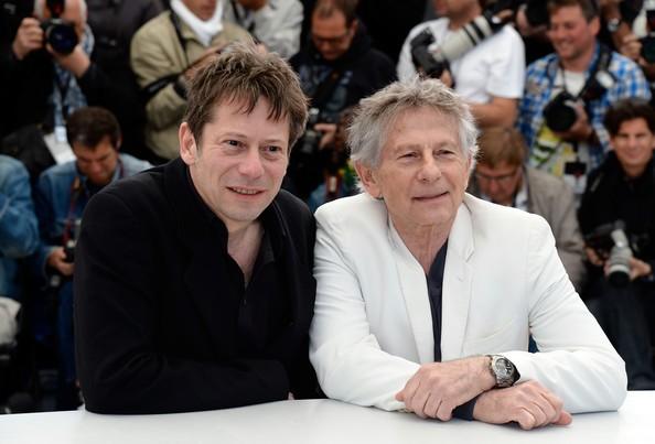 Venere in pelliccia: Roman Polanski presenta il film a Cannes 2013 con Mathieu Amalric