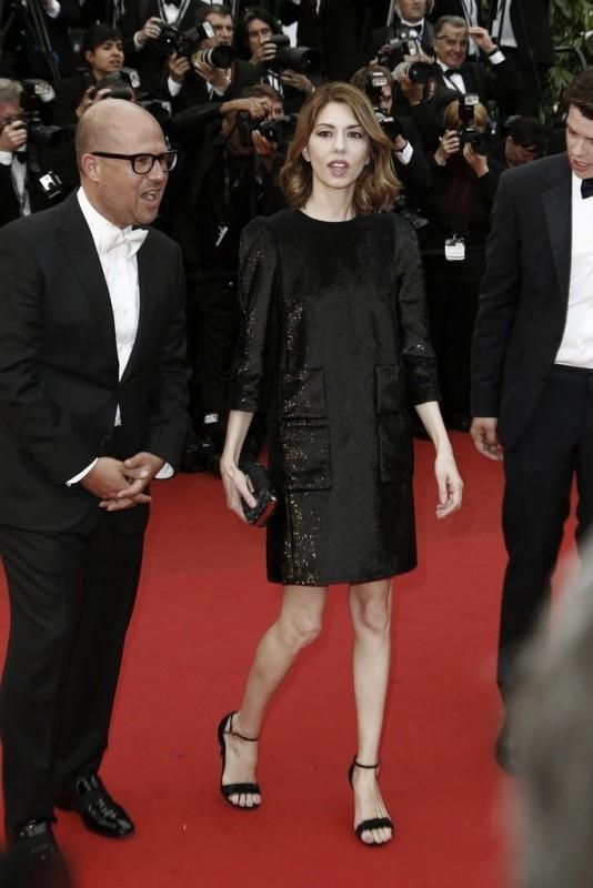 Cannes 2013: Sofia Coppola, regista di The Bling Ring, sul red carpet