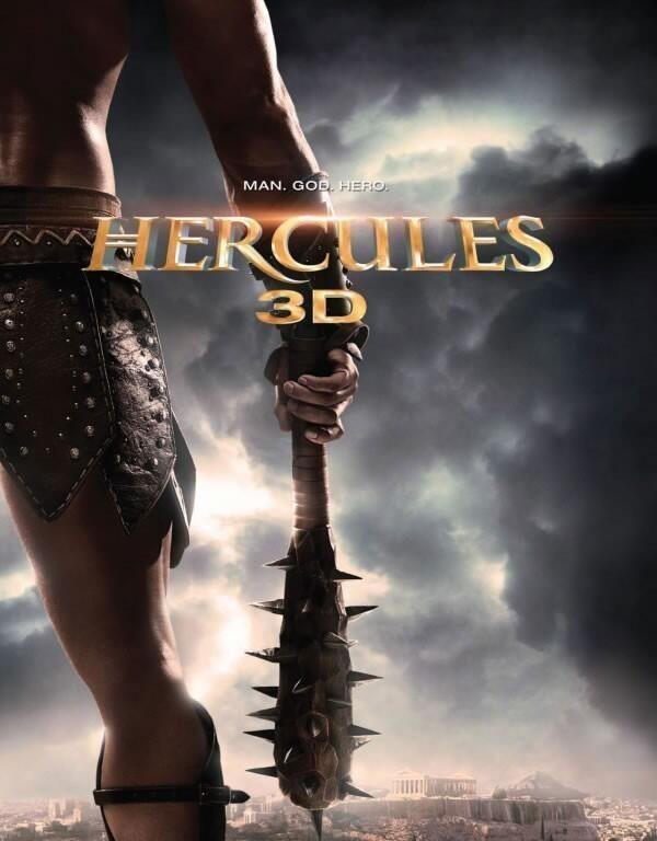 Hercules 3D: la locandina del film