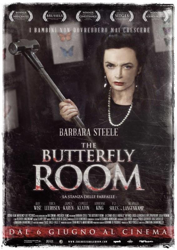The Butterfly Room - La stanza delle farfalle: la locandina del film