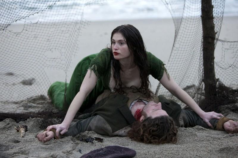 Gemma Arterton è Clara Webb in Byzantium
