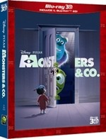 La copertina di Monsters & Co. in 3D (dvd)
