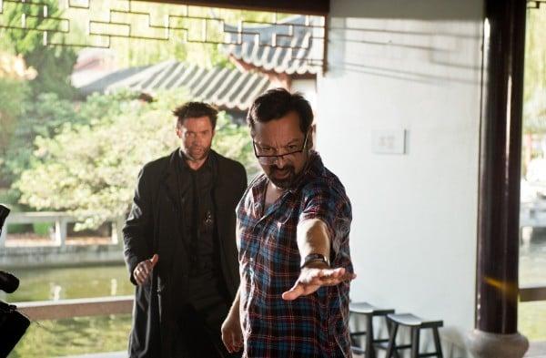 Wolverine: l'immortale: James Mangold mostra a Hugh Jackman come posizionarsi in una scena action