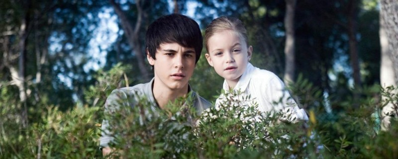 David Solans con Helena de la Torre nel film Fill de Caín
