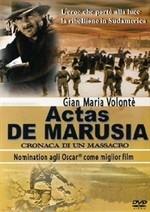 La copertina di Actas De Marusia - Cronaca di un massacro (dvd)