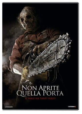 La copertina di Non aprite quella porta 3D (dvd)
