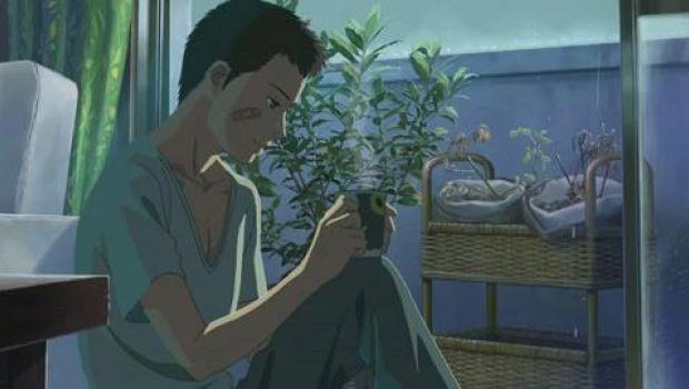 The Garden of Words - una sequenza del film d'animazione giapponese