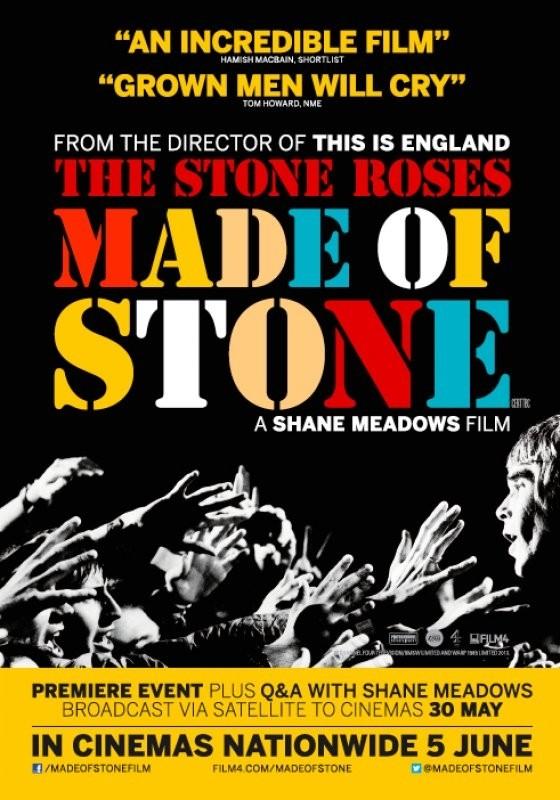 The Stone Roses: Made of Stone: la locandina del film
