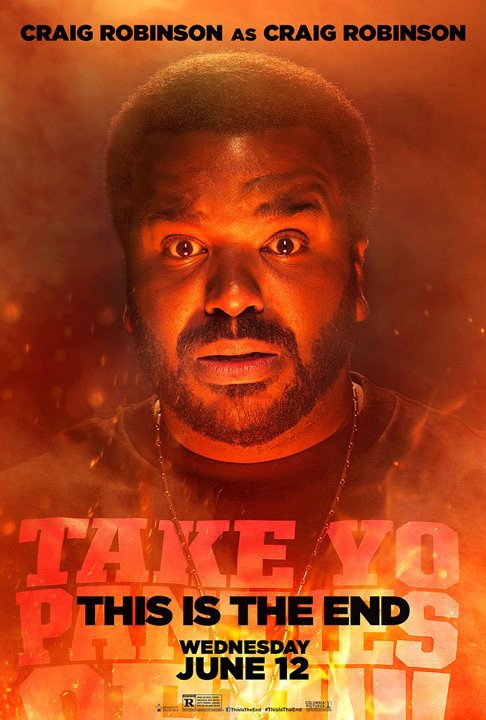 This Is the End: character poster di Craig Robinson