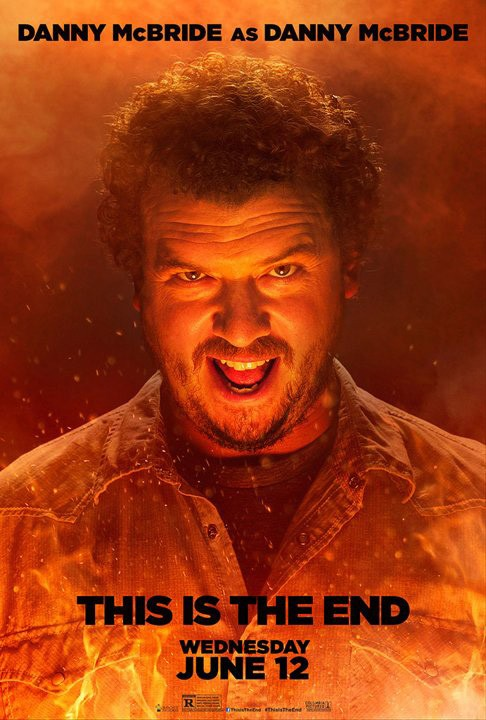 This Is the End: character poster di Danny McBride