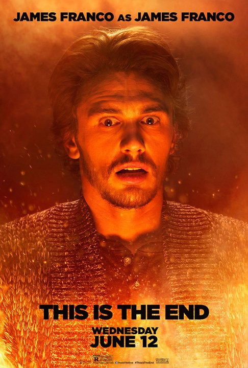 This Is the End: character poster di James Franco