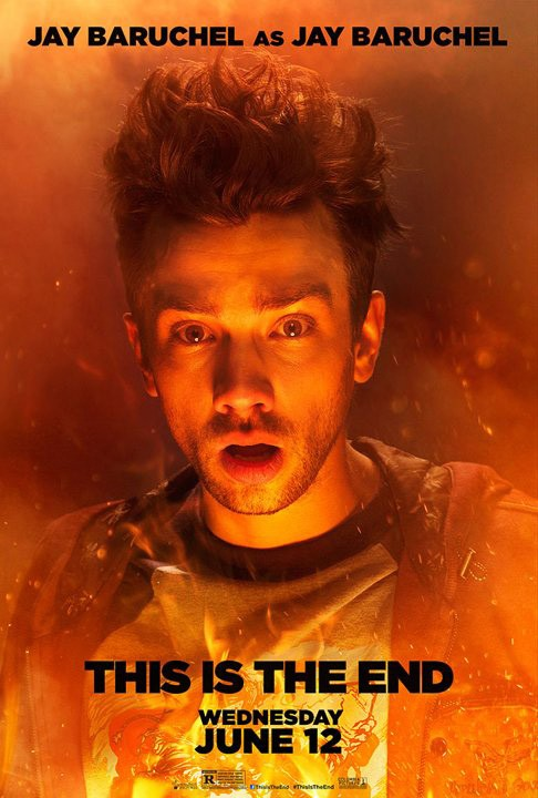 This Is the End: character poster di Jay Baruchel