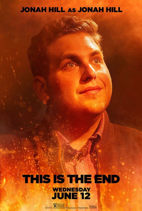 This Is the End: character poster di Jonah Hill