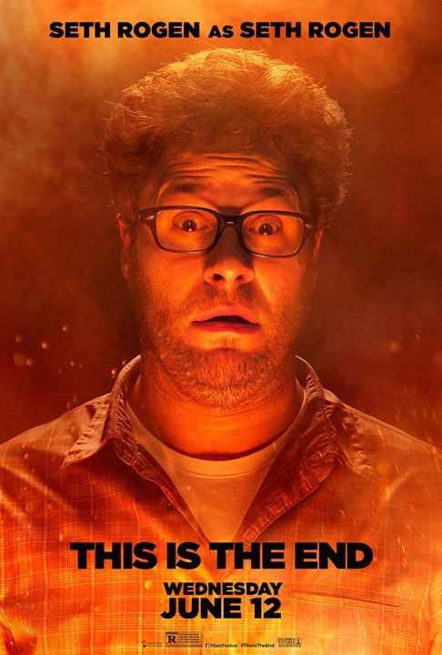 This Is the End: character poster di Seth Rogen